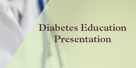 Diabetes Education Presentation at StoryPoint tickets
