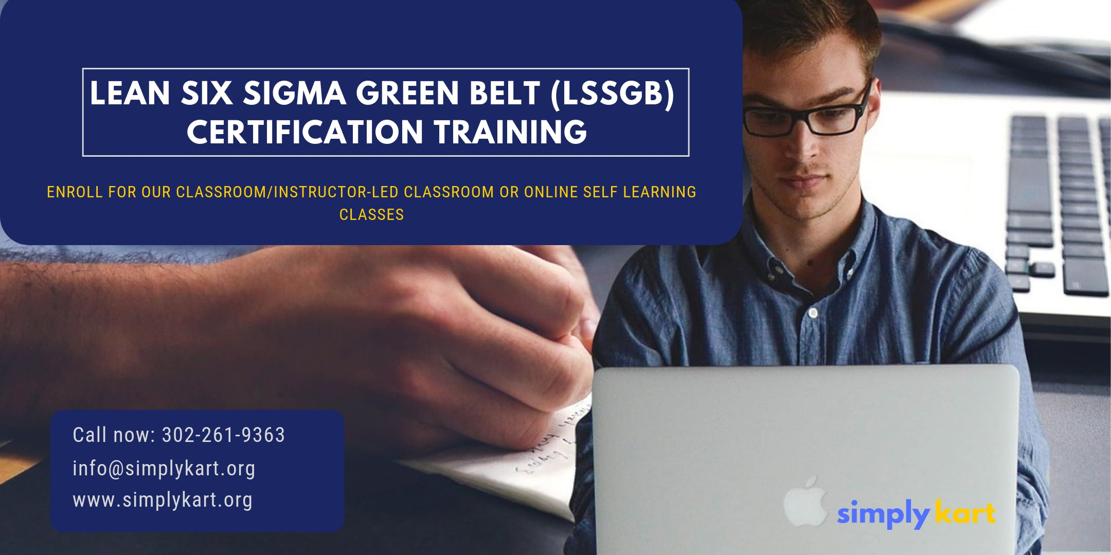 Lean Six Sigma Green Belt (LSSGB) Certification Training in Laval, PE