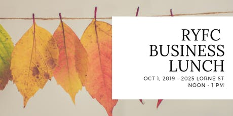 RYFC Fall Business Lunch tickets