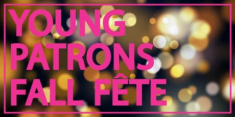 FIAF Young Patrons Fall Fête tickets
