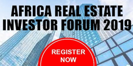 Africa Real Estate Investor Forum 2019 tickets