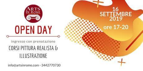OPEN DAY ARTS IN ROME biglietti