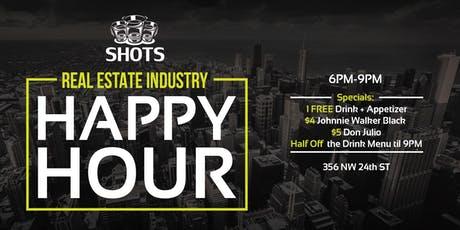 Wynwood Real Estate Industry Happy Hour  tickets