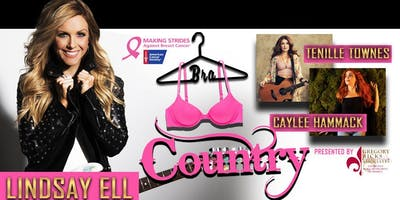 101.1 WNOE PRESENTS: BRA COUNTRY