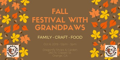Fall Festival with Grandpaws Fundraiser tickets