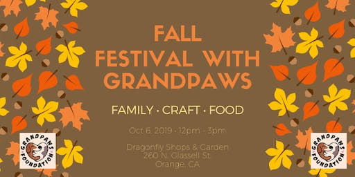 Fall Festival with Grandpaws Fundraiser