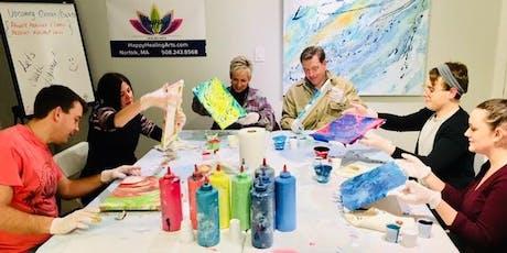 Fluid Art Paint Party tickets