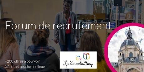 Forum recrutement - Spécial Panthéon Sorbonne billets
