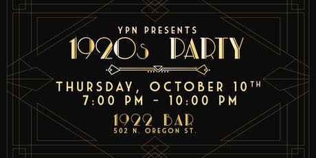 YPN 1920s Party tickets