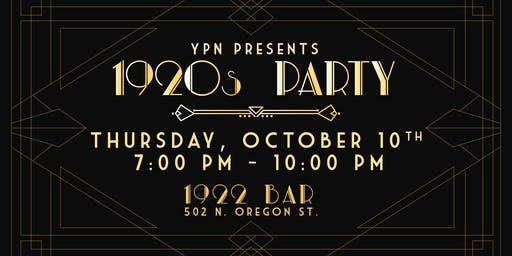 YPN 1920s Party