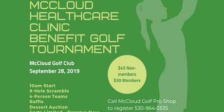 McCloud Healthcare Clinic Benefit Tournament tickets