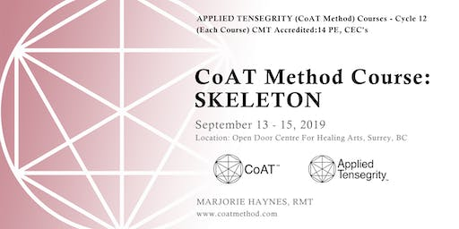 Skeleton, Cycle 12: Applied Tensegrity (CoAT Method) Course