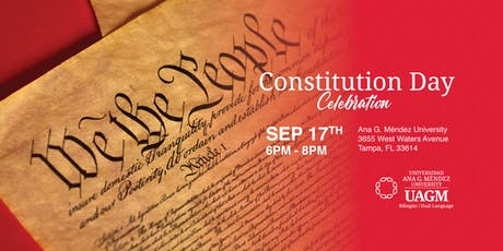 Constitution Day Celebration at Ana G. Méndez University! tickets