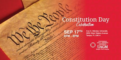 Constitution Day Celebration at Ana G. Méndez University!