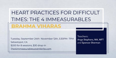 Heart Practices for Difficult Times: The 4 Immeasurables tickets