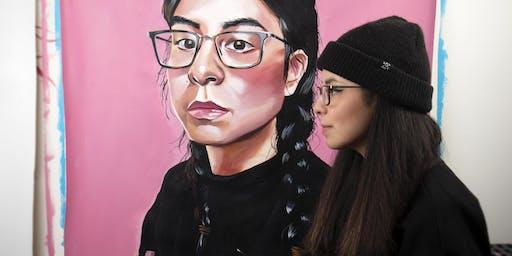 St. Albert Amplify Festival: Self-Portraiture with Lauren Crazybull