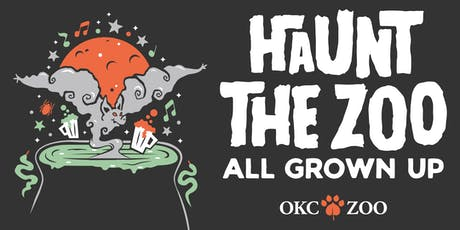 Haunt the Zoo All Grown Up tickets