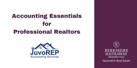 Accounting Essentials for Professional Realtors tickets