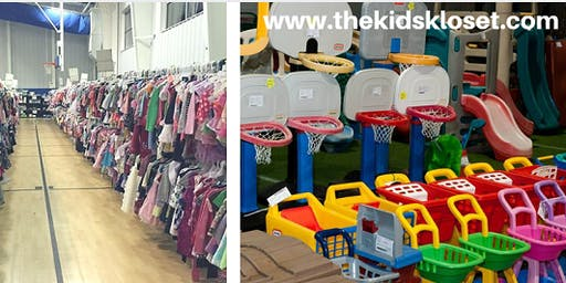 The Kids Kloset Consignment Sale SHOP EARLY PRESALE-Suffolk-October 18, 2019