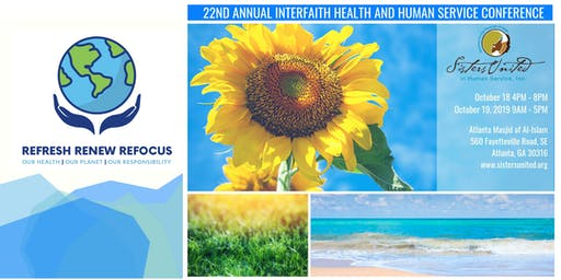 22nd Annual Interfaith Health and Human Service Conference - Refresh | Renew | Refocus