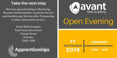 Open Evening (Apprenticeships & Traineeships)