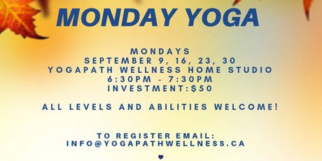 Monday Night Yoga tickets