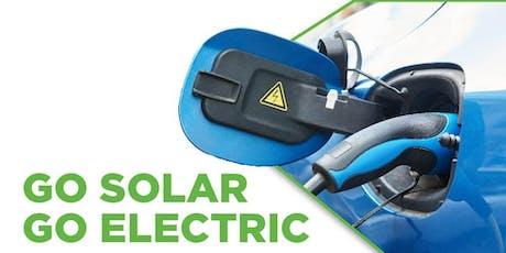 GO SOLAR - GO ELECTRIC tickets