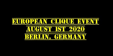 European Clique Event tickets