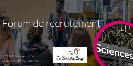 Forum recrutement - Spécial Sciences Po tickets