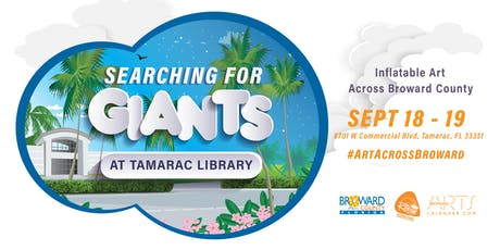 Searching for Giants: Tamarac Library (location 3) tickets