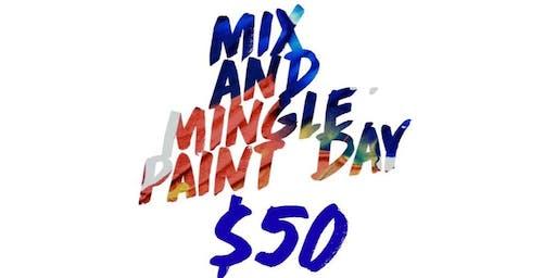MIX && MINGLE BRUNCH && PAINT PARTY  !