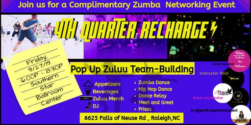 4th Quarter Recharge-  Pop Up Zumba Team-building!