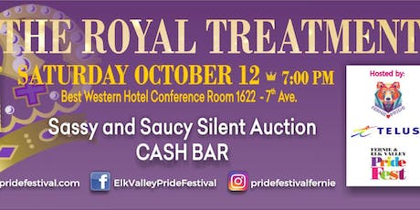 The Royal Treatment - Elk Valley Pride Festival Drag Party tickets