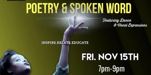 Poetry & Spoken Word (Nov 15th)