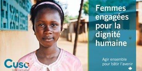 Femmes engagées pour la dignité humaine billets