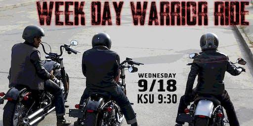 Week Day Warrior Ride