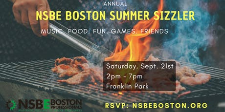 NSBE Boston Annual Summer Sizzler tickets