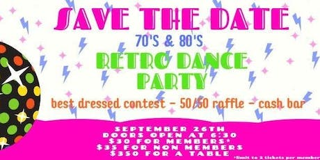 WCR 70's & 80's Dance Party tickets