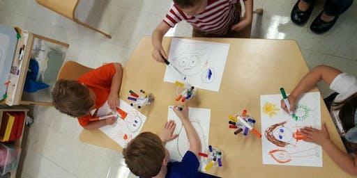 Youth Workshop Series: Crayon Etching