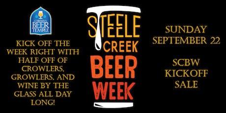 Steele Creek Beer Week Kickoff Sale! tickets