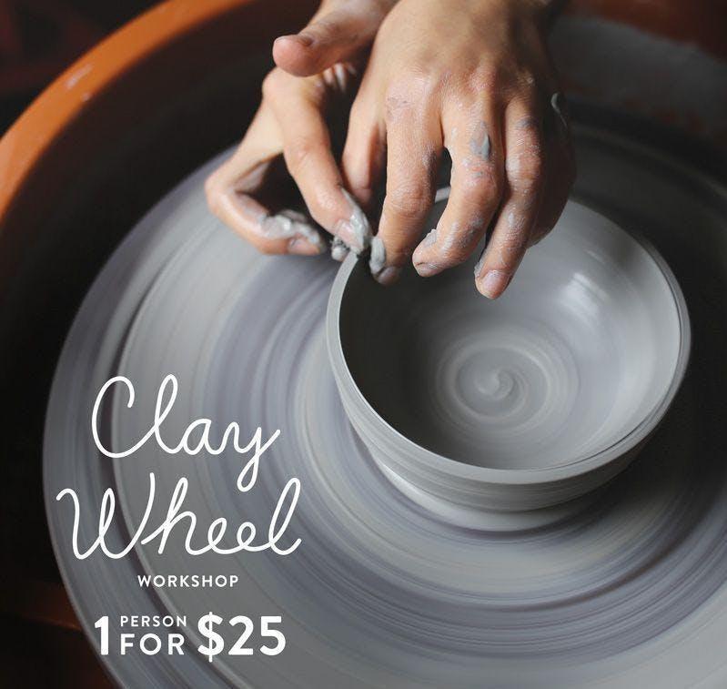 Mini Clay wheel workshop