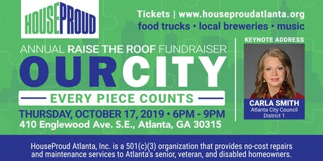 The Home Depot presents Raise the Roof by HouseProud Atlanta, Inc. tickets