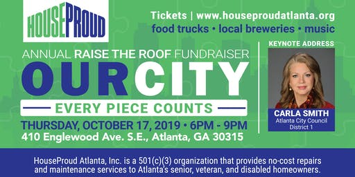 The Home Depot presents Raise the Roof by HouseProud Atlanta, Inc.
