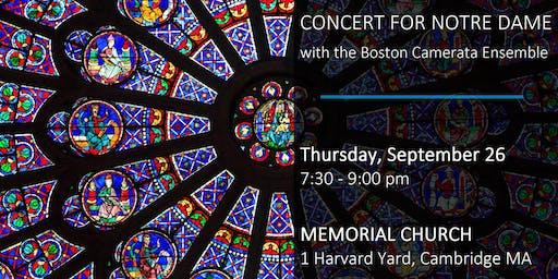 Concert for Notre Dame