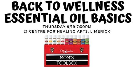 Back to Wellness- Essential Oil Basics tickets