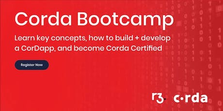 Corda Blockchain Bootcamp NYC tickets