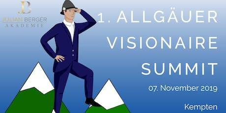 1. Allgäuer Visionaire Summit Tickets