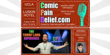 Comic Pain Relief 2019 tickets