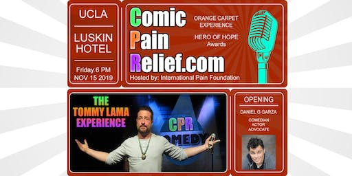 Comic Pain Relief 2019