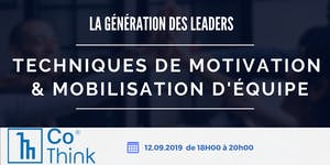Atelier : Techniques de Motivation & Mobilisation...